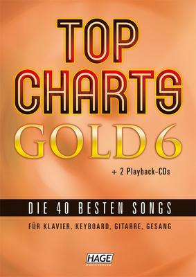 Hage Musikverlag Top Charts Gold 6