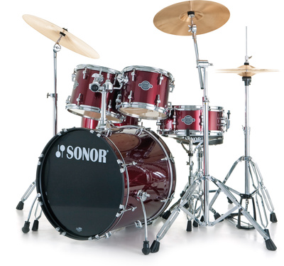 Sonor Smart Xtend Brush Red Stage2