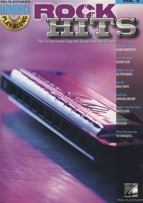 Hal Leonard Harmonica Play-Along Rock Hits
