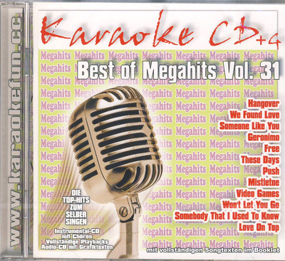 World of Karaoke Best Of Megahits Vol 31