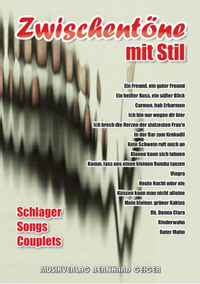 Musikverlag Geiger Zwischentne mit Stil