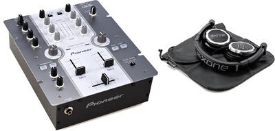 Pioneer DJM 250 W Bundle
