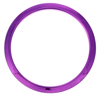 "Bass Drum O's 6"" Purple Chrome round HCP6"