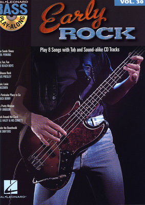 Hal Leonard Bass Play-Along Early Rock