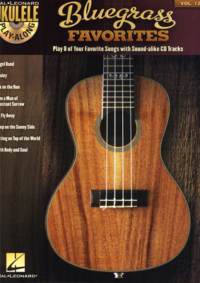 Hal Leonard Ukulele Play-Along Bluegrass