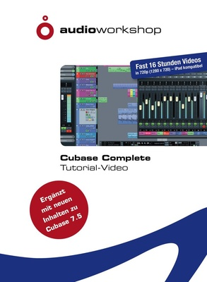 Audio Workshop Cubase Complete Tutorial DVD