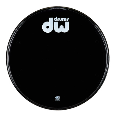 "DW 18"" Bass Drum Resonant Head B"