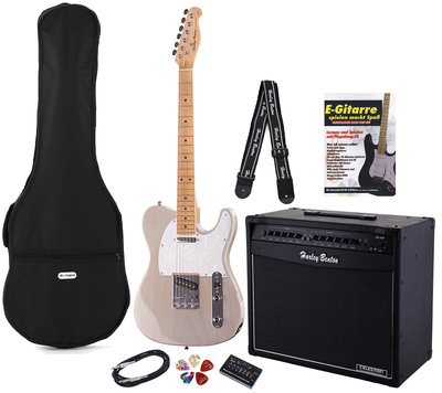 Harley Benton TE-30 BE Bundle 3