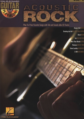 Hal Leonard Guitar Play-Along Acoustic 18